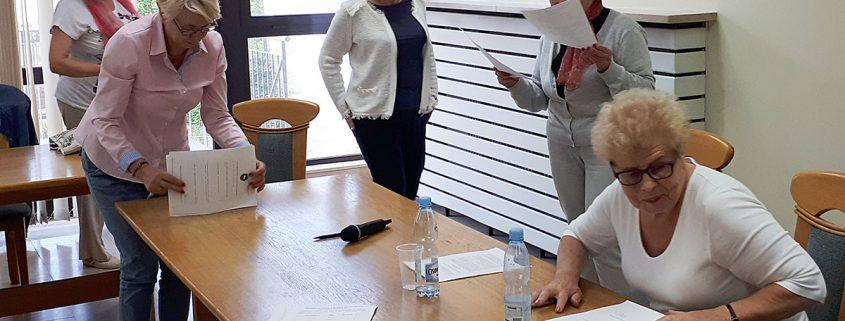 Wybór prezydium Piaseczyńskiej Rady Seniorów
