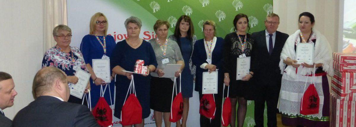 Barbara Olesińska wyróżniona w konkursie Najaktywniejsza Liderka Wiejska
