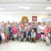 Seniorzy z powiatu żyrardowskiego w Piasecznie